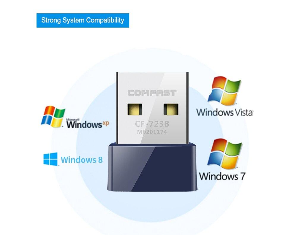 USB Bluetooth 4,0 Adapter Dongle, 150M Wireless WiFi Netzwerk LAN Karte Bluetooth V 4,0 Adapter für Desktop-Laptop PC Wifi Empfänger