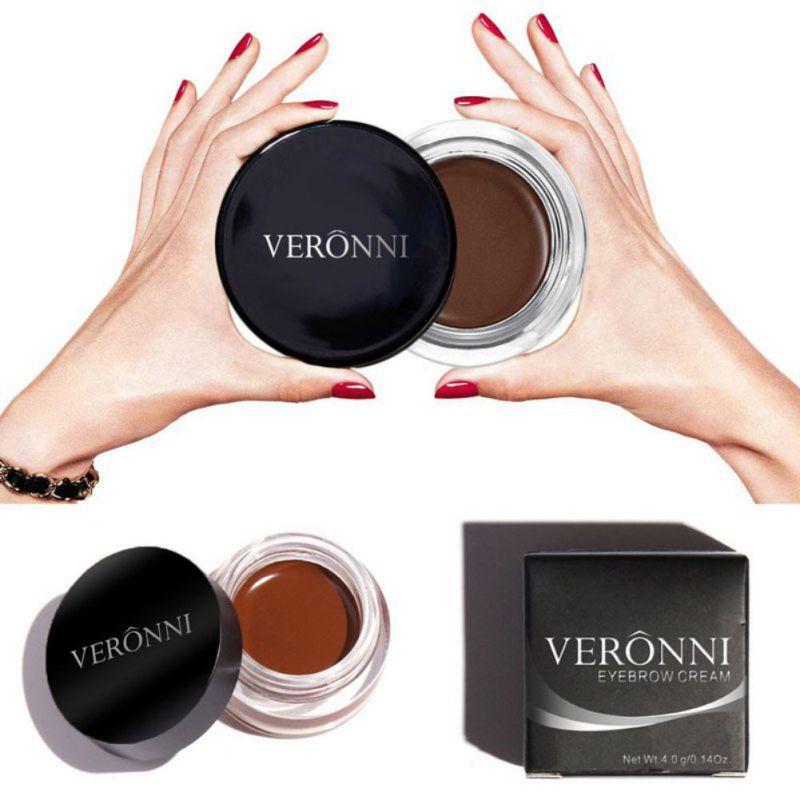 Kit profesional de herramientas de maquillaje para tinte de cejas, impermeable, alta ceja, 8 pigmentos de Color, negro, marrón, gel de Henna para cejas con cepillo para cejas