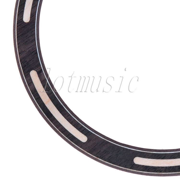 2Pcs New Acoustic Guitar Rosette Rosewood and Maple Soundhole Rosette Inlay Guitar Parts enlarge