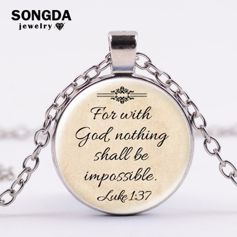 SONGDA-collar largo con frase