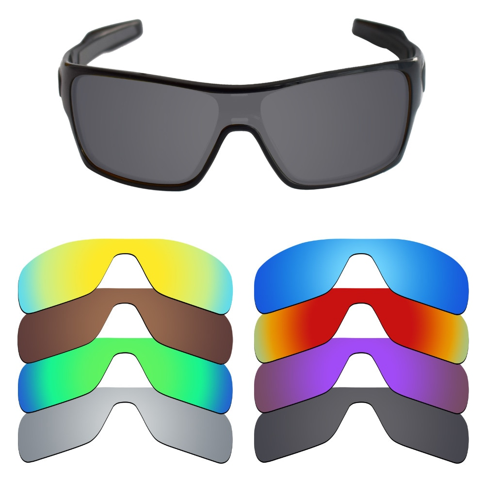 Lentes de repuesto polarizadas Mryok para lentes de sol Oakley con turbina y Rotor (solo lentes), múltiples opciones