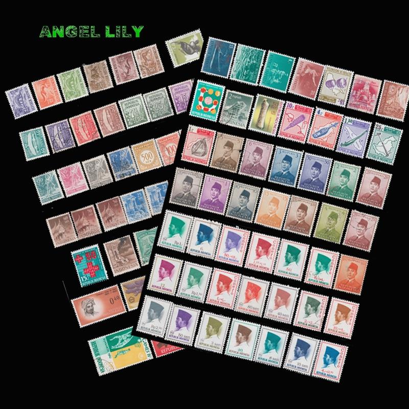Selos de postagem não usados da austrália 45 peças com marca de postagem na boa condição para a coleção