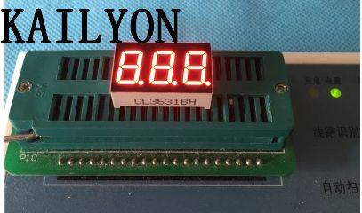 أنبوب رقمي LED ، 100 قطعة ، 0.36 بوصة ، ثلاثة أنابيب رقمية ، 3631 ، 3 أنبوب كاثود مشترك ، 3 3361BS 3361AS