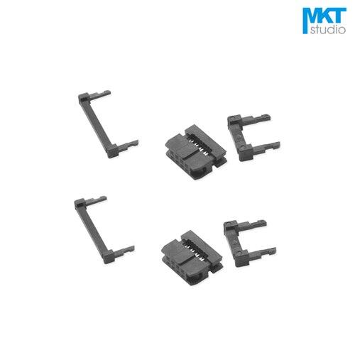 10Pcs Female 2.0mm Pitch FC IDC Connector Socket ISP JTAG Header For Flat Ribbon Cable Sample 6P 8P 10P 12P 14P 16P 18P 20P