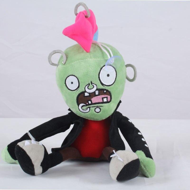 30cm PVZ Plant Vs Zombies Plush Toys Chicken Head Zombies Plush Toy Dolls Soft Stuffed Toys for Kids Children Gift