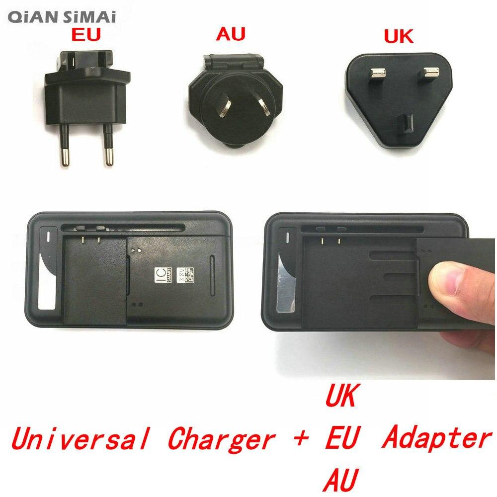 QiAN SiMAi USB Universal de cargador de pared de batería para Haier W718 HTM H9001 H10 BLUEBO N9002 HTC deseo 616 H9001