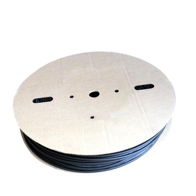Envío Gratis 200 meters/Set 1MM diámetro tubo aislante termoencogible tubo de envoltura de alambre Cable