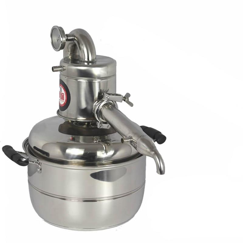 10L Water/Alcohol Distiller Small Household Brew Kit Still Wine Making Brewing Machine Distillation Equipment