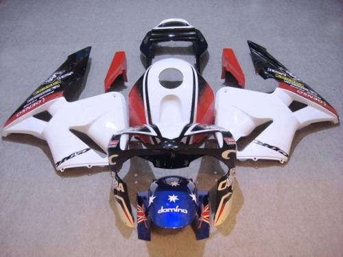 Kit de carenado de motocicleta para HONDA CBR600RR F5 03 04 CBR 600RR 2003 2004 cbr600rr ABS blanco rojo negro Juego de carenados + 7 regalos HR31