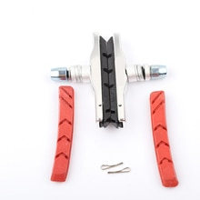 Велосипед V тормозная колодка алюминиевый горный велосипед 2 шт резиновый лист Сменные тормозные колодки V-Тормозная обувь Блоки устройства