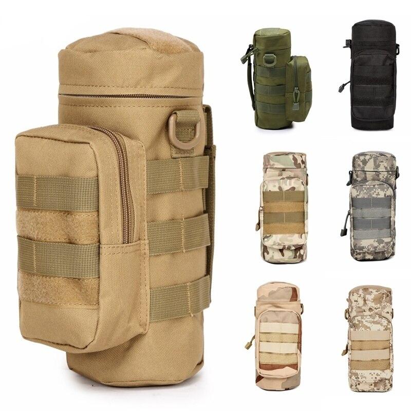 CQC на открытом воздухе Молл сумка для бутылки воды военный страйкбол тактическое снаряжение чайник поясная сумка для альпинизма походная о...