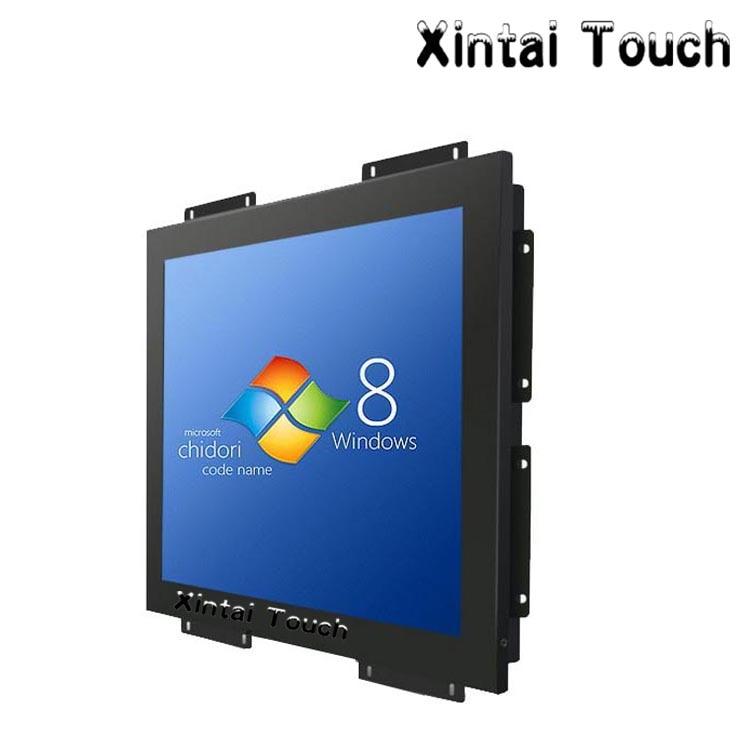 XintaiTouch-شاشة LCD صناعية بإطار مفتوح مقاس 24 بوصة ، وواجهة VGA/DVI ، ومنشار فائق النحافة