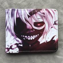 Naruto/Tokyo Ghoul/une pièce/Note de mort/Dragon Ball Z portefeuille Anime avec poche à monnaie Animation Manga porte-carte sac à main