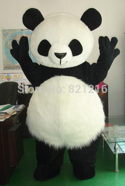 زي باندا صيني عملاق للبيع بالجملة ، زي تميمة تنكرية لعيد الميلاد ، إصدار جديد