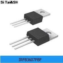 10 sztuk oryginalny oryginalny IRFB3607PBF FET MOSFET n-kanałowy 75V 80A TO-220