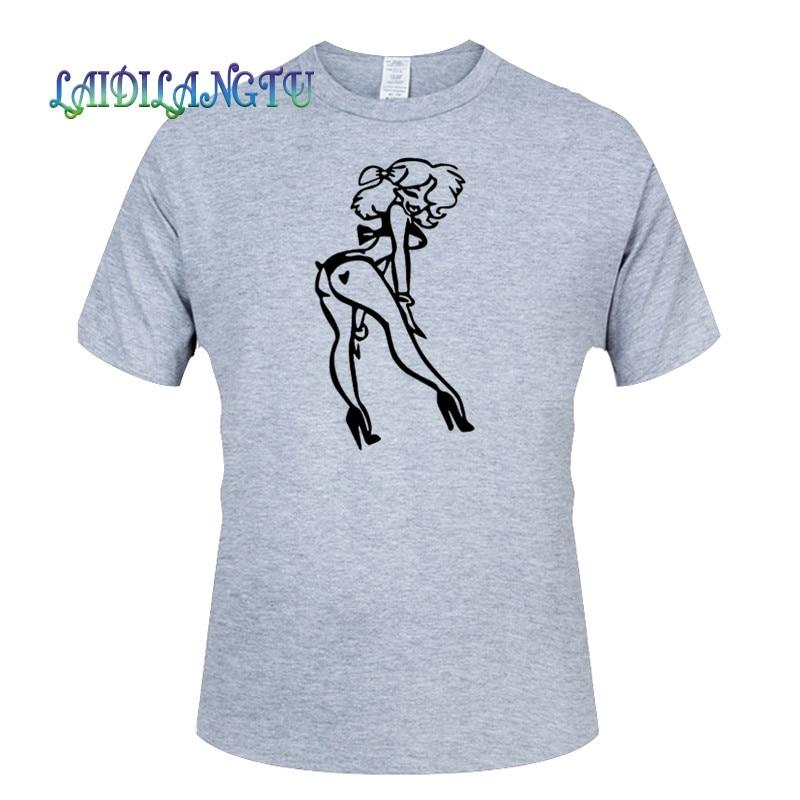 Sexy señora JDM HELLAFLUSH verano moda camiseta hombres Alta Calidad Algodón manga corta Camisetas cuello redondo Hombre Top