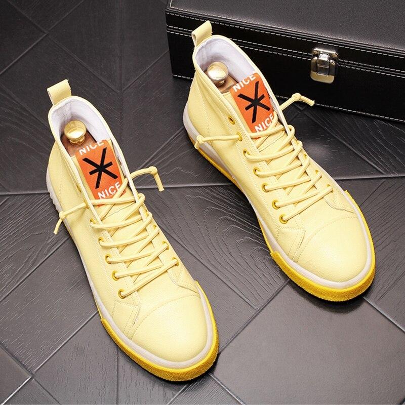 Stephoes جديد وصول الرجال أحذية خفيفة أنيقة الصيف الهواء شبكة عالية أعلى حذاء قماش الذكور تنفس الشباب تتجه أحذية رياضية
