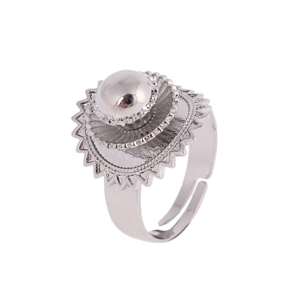 Anillo etíope de tamaño libre para mujer, anillo africano de joyería eretrica de oro y plata, Joyería Árabe, regalos para hombres, joyería, anillos para niños