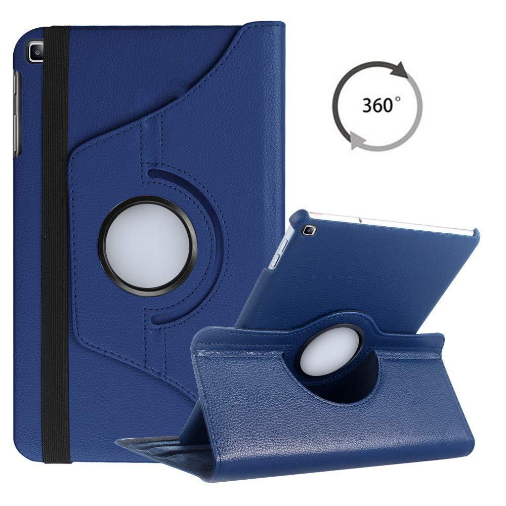 360 giratoria Funda para Samsung Galaxy Tab un 10,1 de 2019 T510 T515 Flip soporte cubierta de cuero de la PU SM-T510 Wifi SM-T515 LTE Funda casos