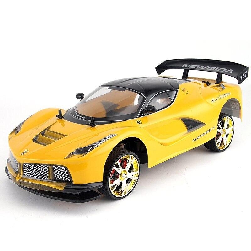 Coche RC grande 110 coche de carreras de alta velocidad para Ferrary Viper Campeonato 2,4G 4WD Radio Control deporte Drift Racing juguetes electrónicos