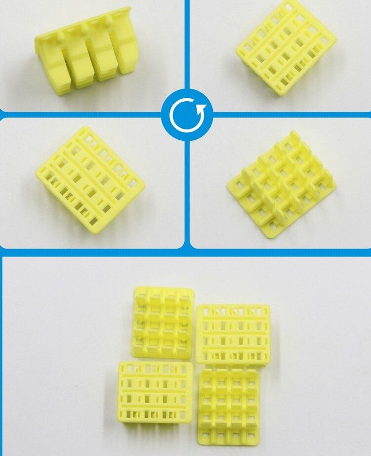 368049-1 E-J MK-II(+) 16P التوصيل DBL الأصفر اللون تايكو العلب TE AMP الموصلات العلب المحطات 100% جديد و الأصلي أجزاء