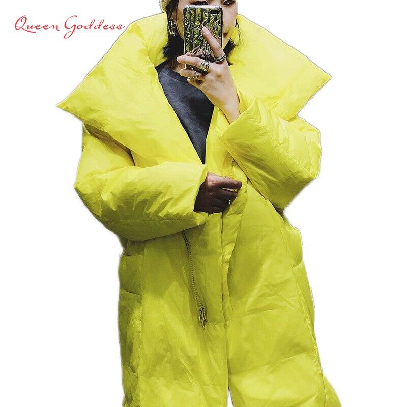 جاكيت نسائي شتوي دافئ ، جودة عالية ، أصفر وأسود ، جاكيت شتوي دافئ ، i-fashion ، مقاس كبير 7 XL ، جيوب خاصة ، 2020