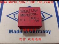 2020 hot sale 10pcs/20pcs German capacitor WIMA MKP10 630V 1UF 1.0UF 630V 105 P: 27.5mm Audio capacitor free shipping