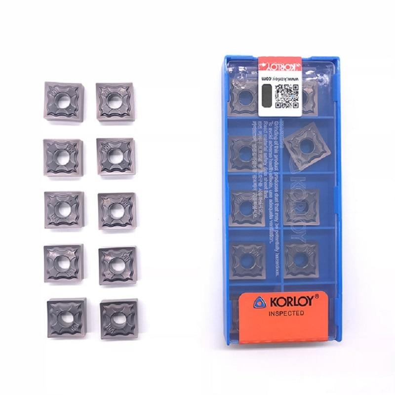 Korloy SNMG120404 SNMG120408 HA PC9030 high quality Internal Turning tool carbide insert for steel