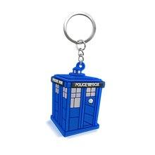 LLavero de PVC con nuevo estilo de Doctor Who, 1 unidad, regalo para mujeres, niñas, bolso, colgante, figura de PVC, encantos, llavero, joyería de cadenas, porte clef