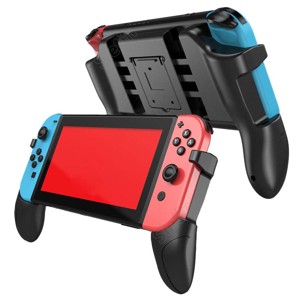 Funda de rejilla Nintend Switch con 2 tarjetas de juego de almacenamiento ergonómico Goplay accesorios de mano fácil de instalar