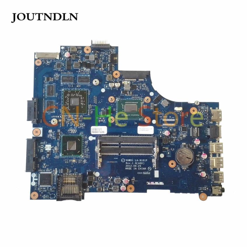 JOUTNDLN PARA DELL INSPIRON 3521 5521 Laptop Motherboard VW55C 0VW55C VAW01 LA-9101P REV1.0 w/I5-3317M CPU