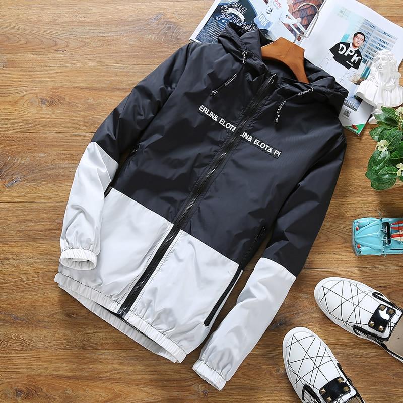 Мужская ветровка HCXY, тонкая куртка с капюшоном, верхняя одежда для летнего сезона 2019