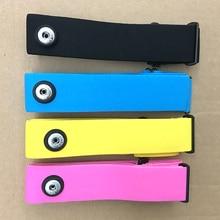 Bandes élastiques de ceinture de poitrine pour Wahoo Polar Garmin Runtastic Bluetooth ANT + 5.3KHz capteur de fréquence cardiaque transmetteur de moniteur