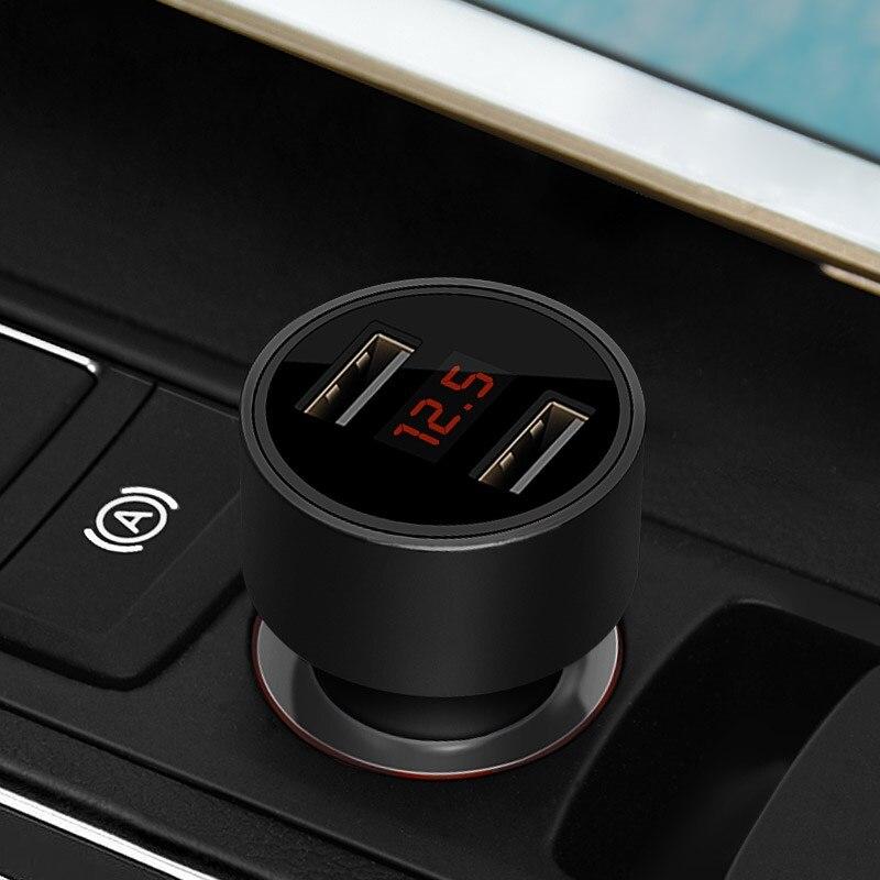 Carregador de carro Dual USB Max 5 V/3.1A Estilo Metal com LED Para Acura RLX CL EL CSX RDX ILX NSX MDX RL TL TSX Vigor SLX Acessórios