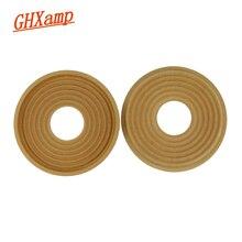 """Ghxamp 155 мм 49 мм Woofer Spider Spring cloth Pad Bullet Wave Shrapnel для 10 """"дюймов 12"""" дюймов сабвуферный динамик ремонт Diy 2 шт"""