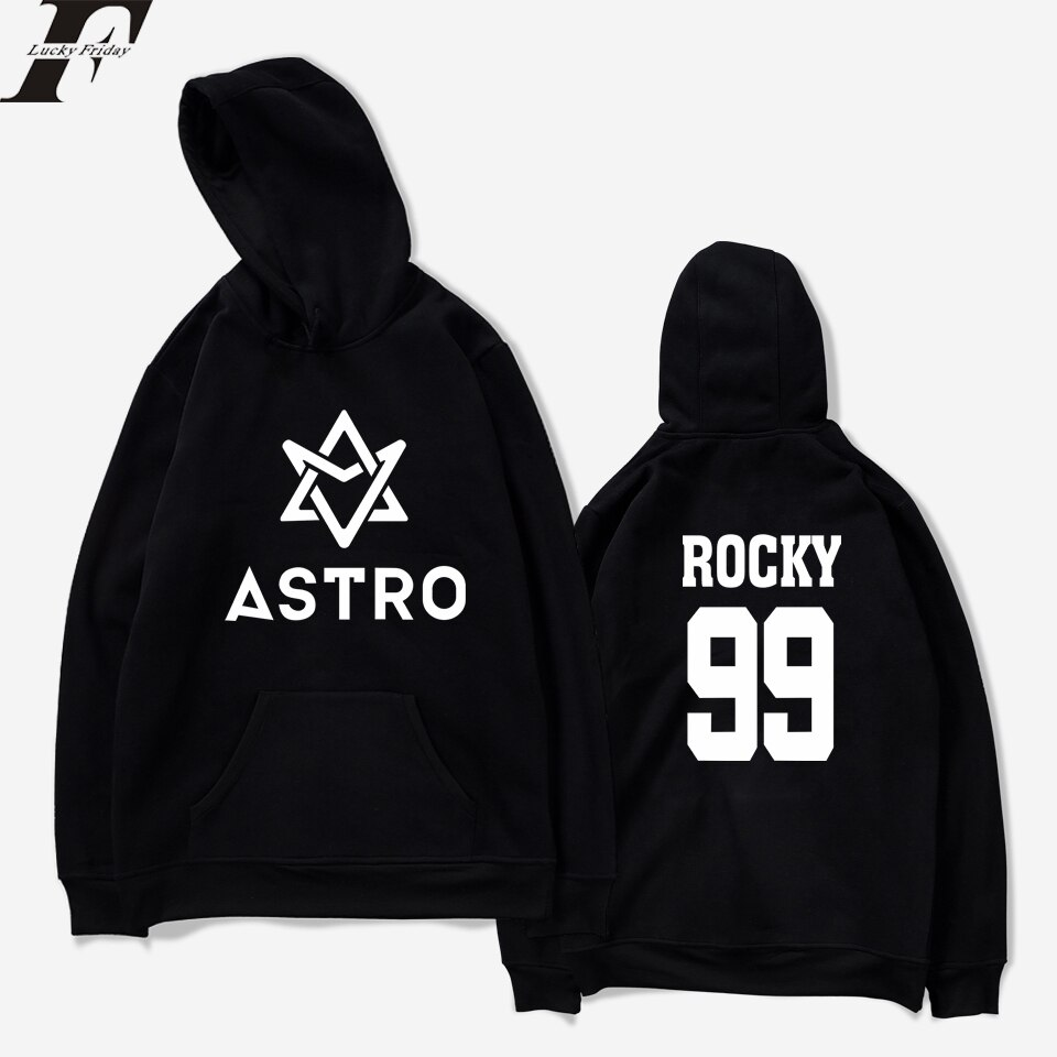 Luckyfridayf 2018 astro kpop hoodies moletom estrela grupo primavera feminino/masculino harajuku moletom casual hoodie com capuz roupas masculinas/femininas