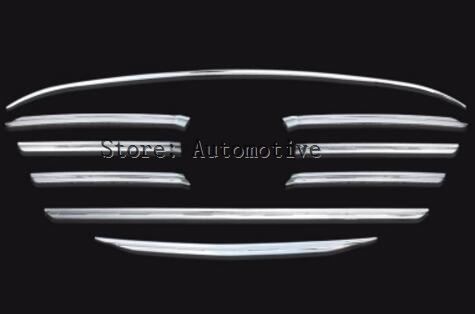 FIT FOR MAZDA CX-5 2015 2016 CHROME FRONT MESH GRILLE GRILL BUMPER COVER TRIM INSERT BONNET GARNISH MOLDING GUARD PROTECTOR enlarge