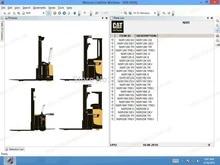 cat Forklift Warehouse 2020