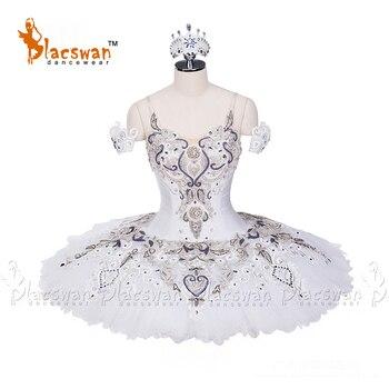 Professional Custom Made Competition Dress Prima Ballerina Ballet Costume White Ballerina Tutu BT696