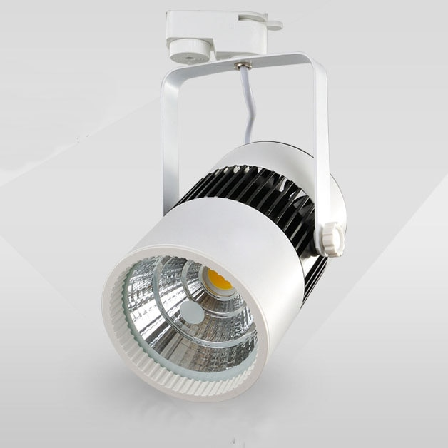 2800-7000k 2000lm 20W COB led track lighting kitchen led tracking light clothing furniture store exhibition spotlights 8pcs/lots enlarge
