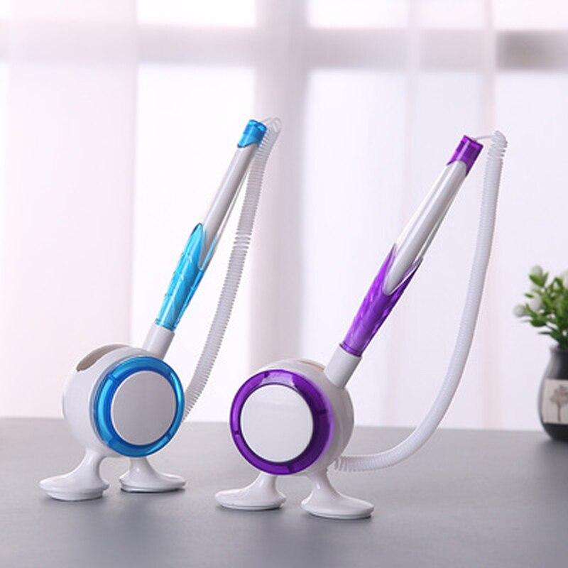 0,5 мм настольная ручка офисная для офисной работы офисная шариковая ручка настольная фиксированная веревочкой может быть прикреплена к сто...