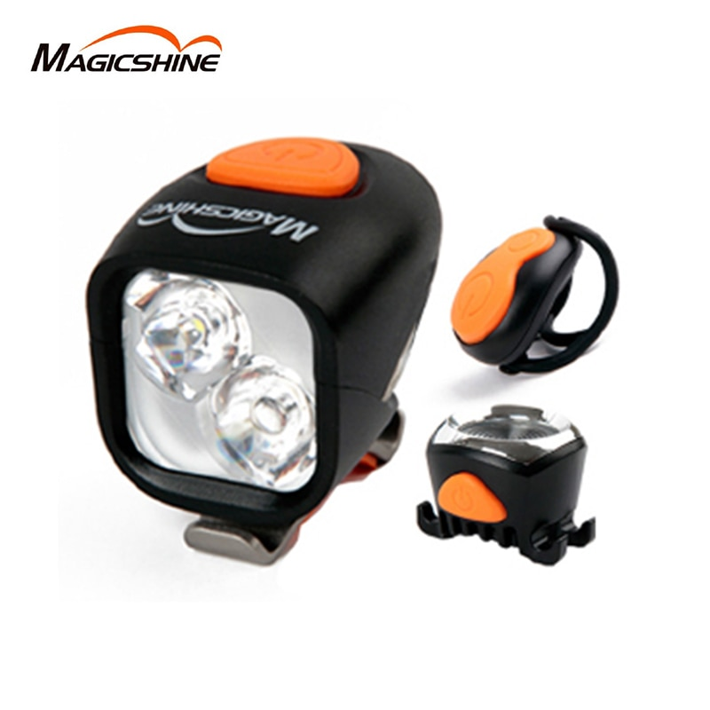 Magicshine bicicleta Led luz frontal linterna manillar bicicleta impermeable Led luz recargable 1200LM luz trasera