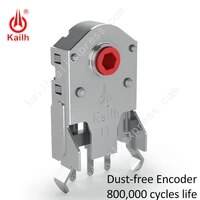 kailh 789101112mm rotary mouse scroll wheel encoder 1 74 mm hole 20 40g force for pc mouse alps encoder 800000 life cycles