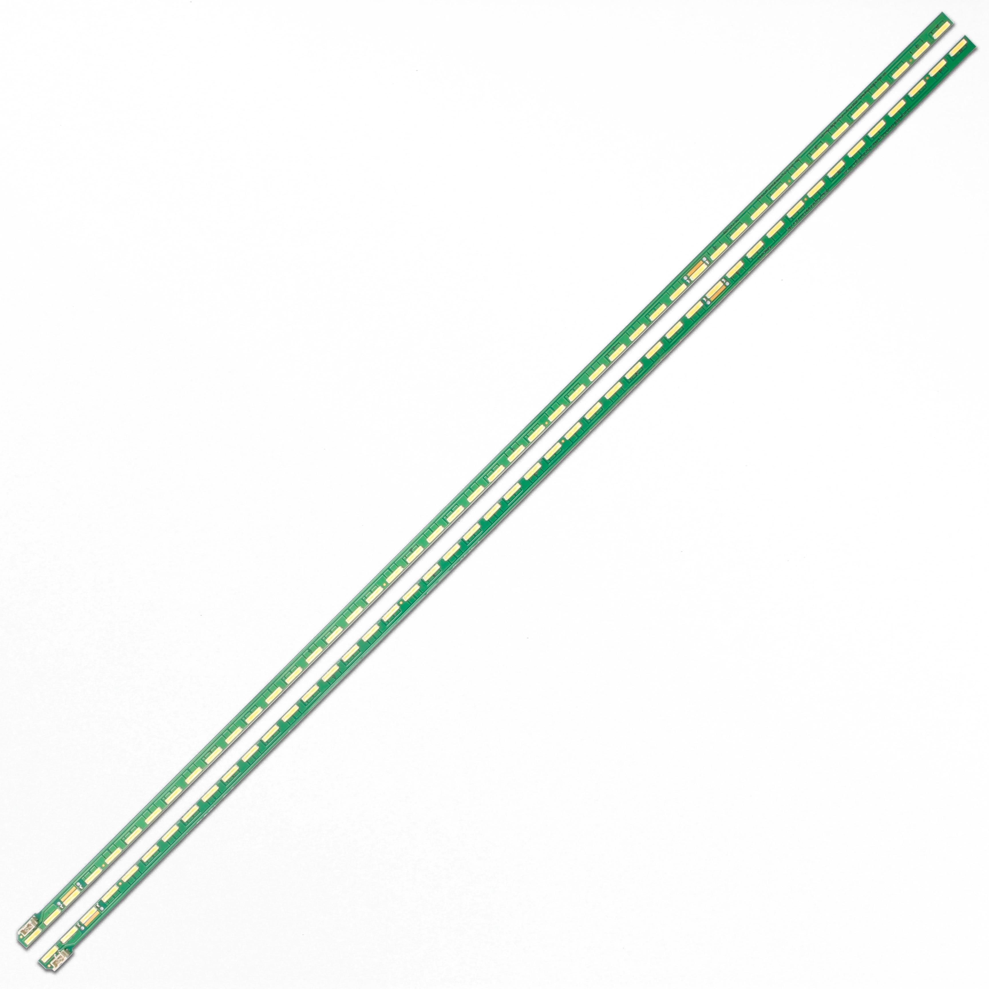 15 наборов = 30 шт. 46 светодиодный 537 мм Светодиодная лента для подсветки 49 дюймов FHD R L-образные фотообои для LG 49LF5400 NC490EUN MAK63267301