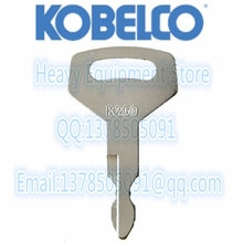 5 uds. De llave K250 para excavadora Kobelco, excavadora Dozer Kobelco, nueva caja de excavadora holandesa, Mini excavadora Kawasaki, cargadores de ruedas