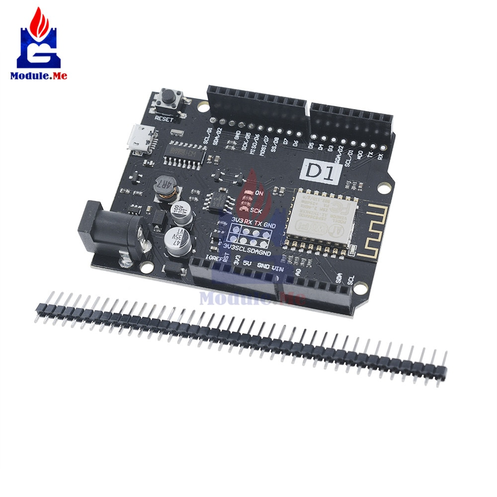 WeMos D1 R2 UNO WiFi модуль ESP8266 беспроводной модуль расширения для Arduino NodeMCU макетной платы