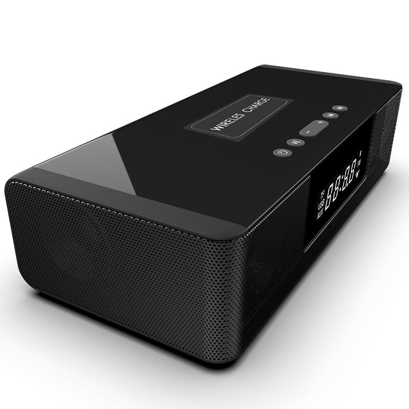 Wireless Bluetooth Speaker Column Soundbar Music Stereo TV Speakers Home Theater Sound Bar TF U-Disk Clock LCD Display For PC