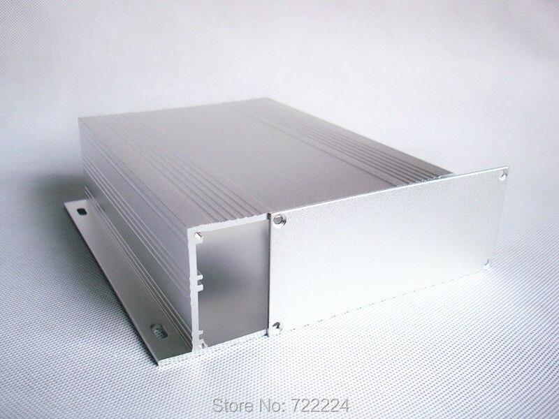 10 uds/lote caja de aluminio montada en la pared 133*46*150mm para amplificador de potencia de proyecto electrónico de aleación DIY toma de derivación caja de medidor