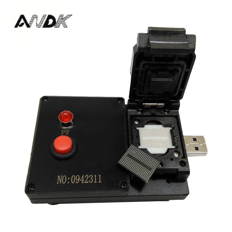 BGA316 U-Disk Test Jig 8CE AlcorMP Controller Clamshell USB Interface Probe Pogo Pin Fixture