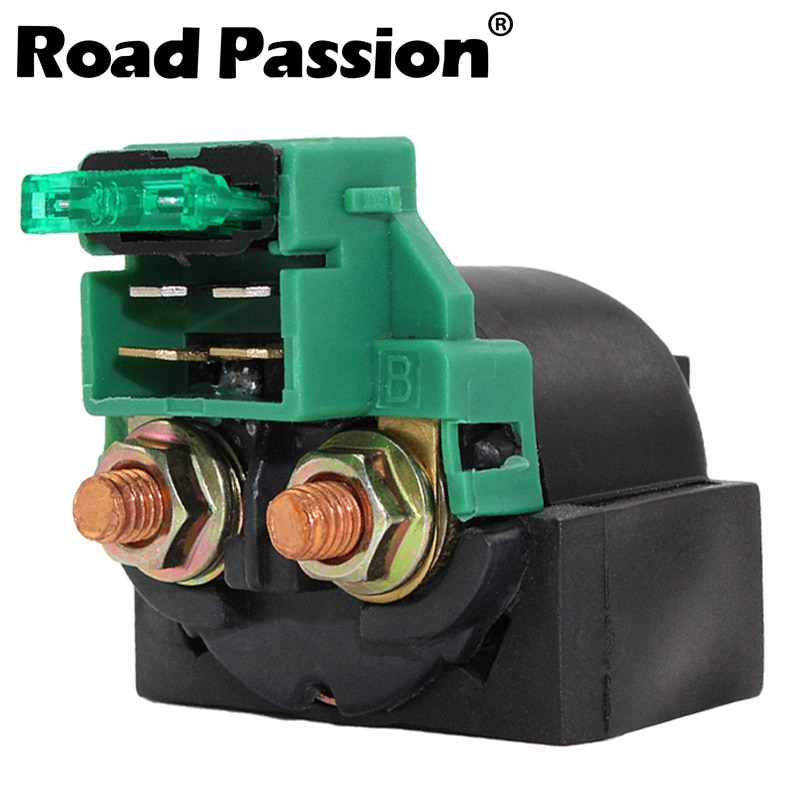 Дорожный Passion мотоциклетный Стартер электромагнитный реле зажигания переключатель для HONDA CMX450 NX250 VTR250 CB-1 400 F CB125 CB400 CB400SF